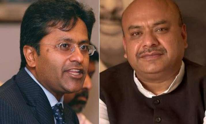 lalit modi asks bjp s sudhanshu mittal to reveal his hawala