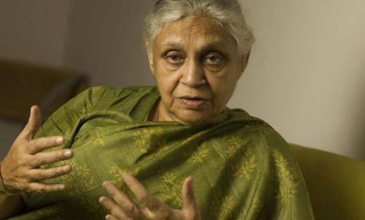 sheila dikshit to be key campaigner for party in delhi