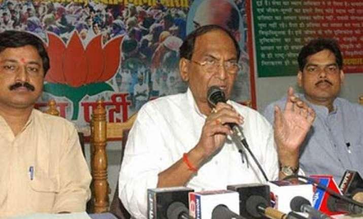 c p thakur resigns as bihar bjp chief