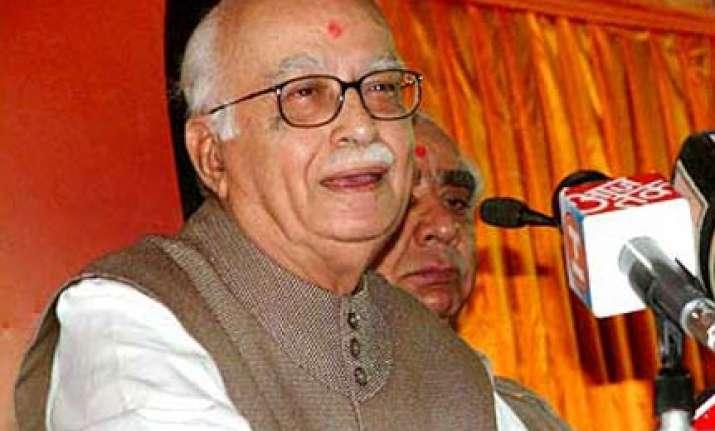 advani seeks omar s resignation over remarks on j k