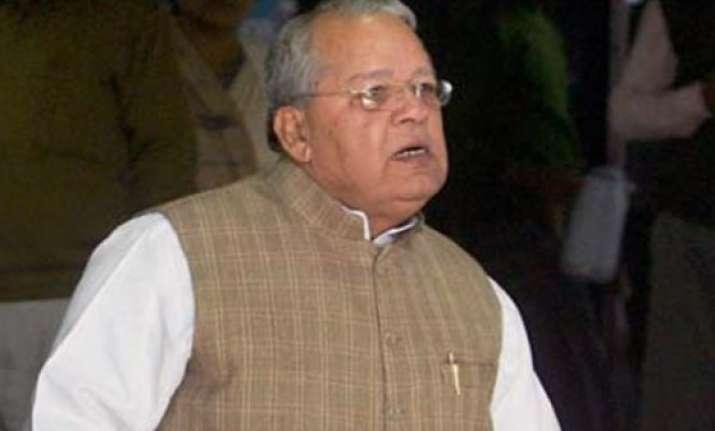 bjp may have post poll alliance with shiv sena kalraj misra