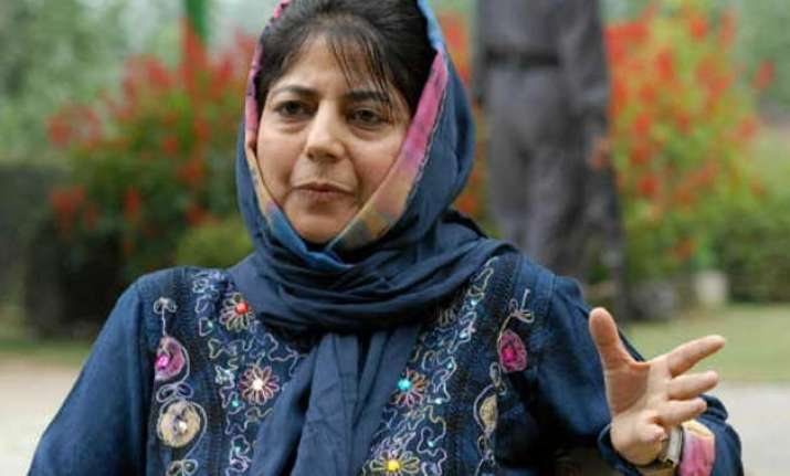 centre has to take call on our demands mehbooba mufti