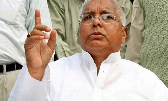 sc issues notice to rjd chief lalu prasad in fodder scam