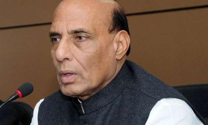 rajnath singh reviews security situation after terror inputs