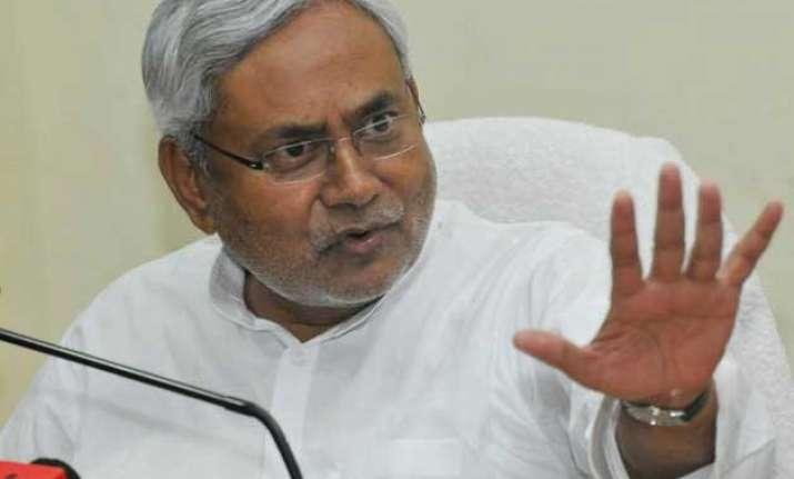 nitish govt draws bjp anger over food law implementation