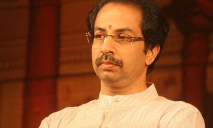 uddhav thackeray holds talks with shiv sena leaders