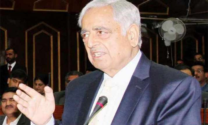 mufti govt for afspa revocation even as terror attacks rock