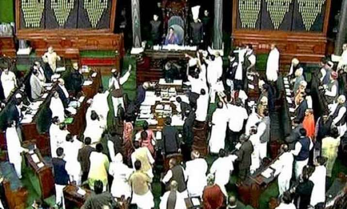 land acquisition bill passed in lok sabha with nine