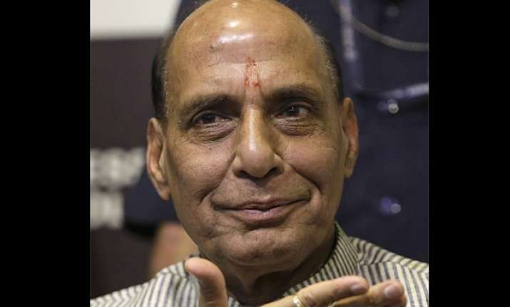 no compromise on india s integrity rajnath singh