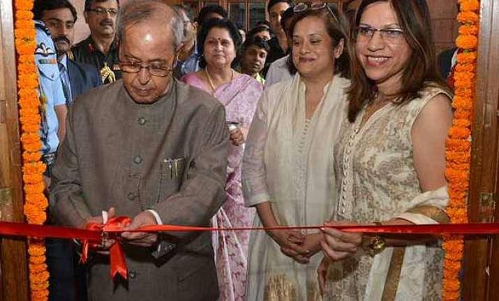 president pranab mukherjee inaugurates innovation museum at