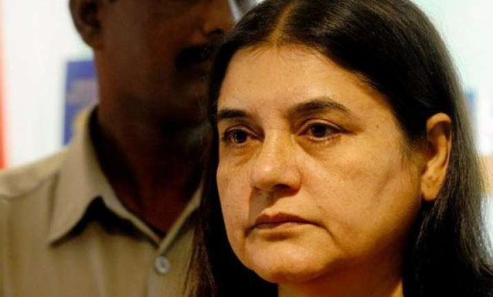 lawyer alleges maneka gandhi slapped him police probes