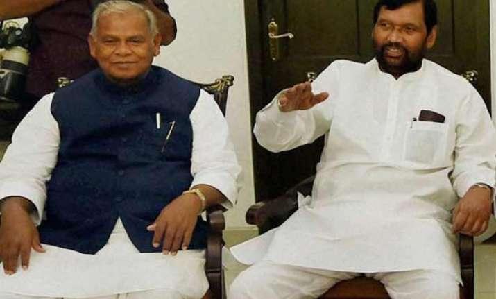 bihar polls tug of war between dalit leaders rebels at play
