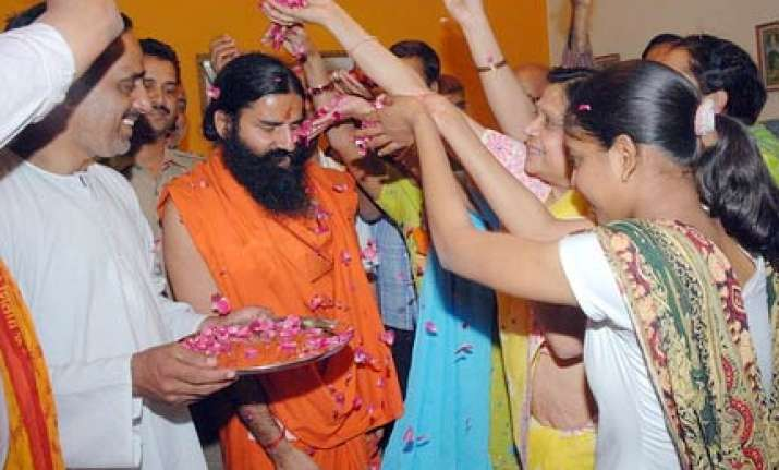 swami ramdev launches bharat swabhimaan party