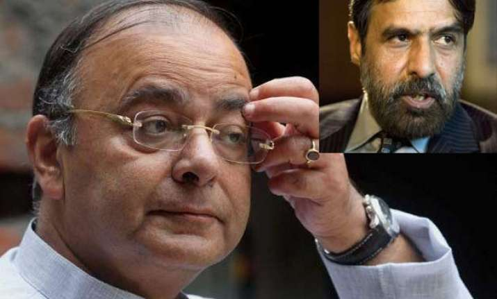 jaitley quotes 2012 letter of anand sharma to expose his