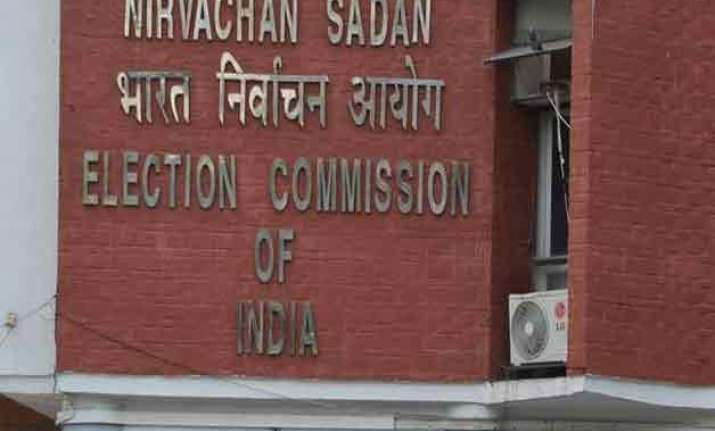 delhi polls ec looks to crack down on misuse of money muscle