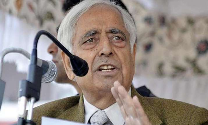 mufti moh. sayeed led j k government proposes budget