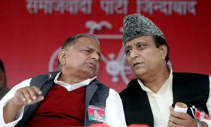 azam khan wants temple for mulayam fatwa says it is un