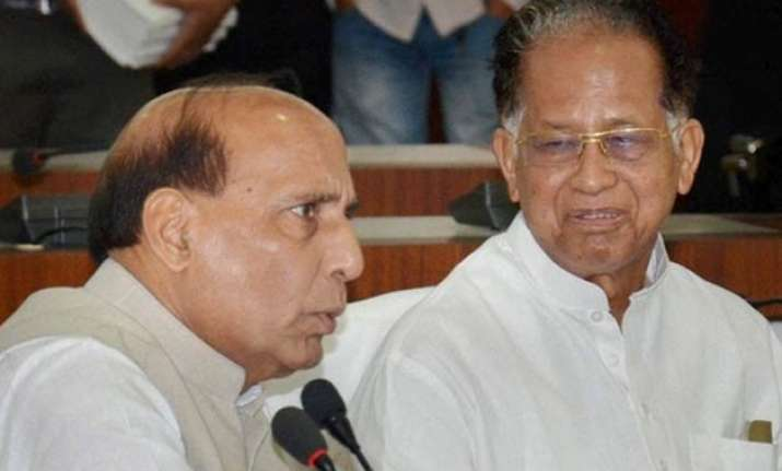 rajnath singh speaks to assam cm over killing of hindi