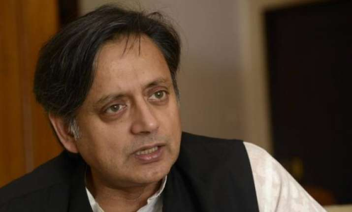 not acquired any assets of sunanda tharoor in statement in