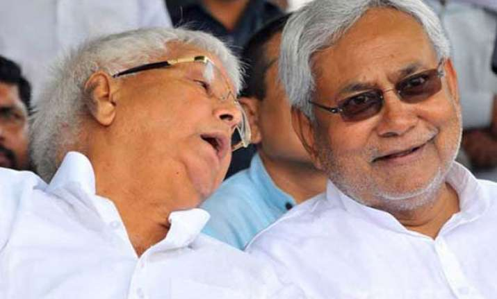 lalu prasad yadav nitish kumar attack bjp ahead of pm modi