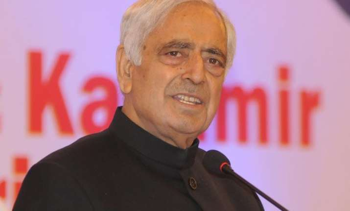 pluralism is only option for india mufti mohammad sayeed