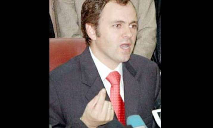 omar appeals for peace in kashmir