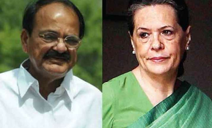 ahead of budget session govt reaches out to sonia gandhi