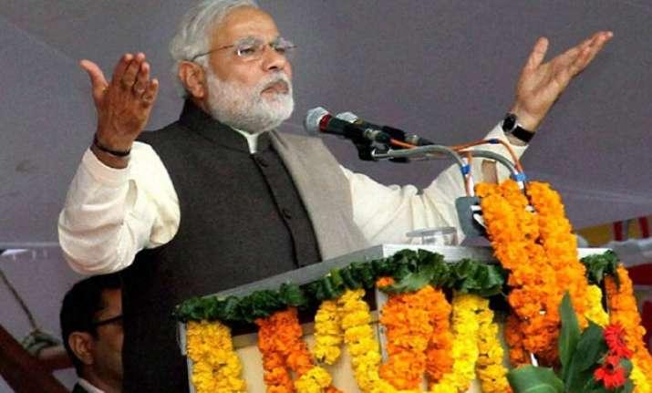 pm modi to address over a dozen rallies in delhi focus on