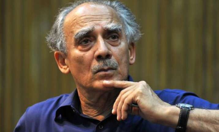 arun shourie no longer party member says bjp