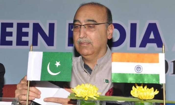 common objective of india and pak is to achieve peace abdul