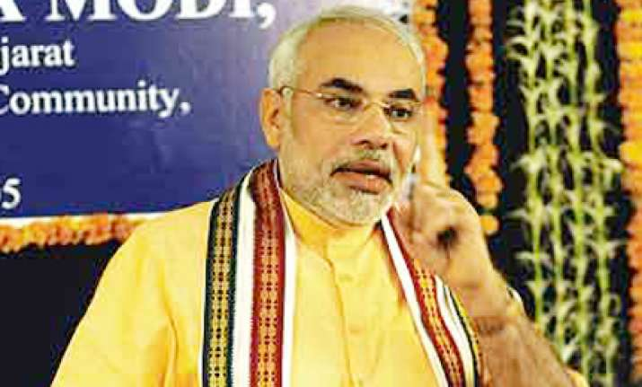 rss likely to ask modi to lead bjp
