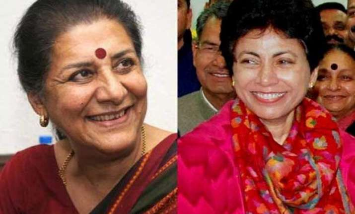 delhi hc rejects ambika soni kumari selja s pleas against