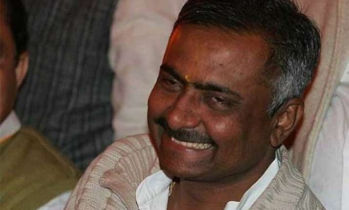 modi is my leader says sanjay joshi deprecates poster war