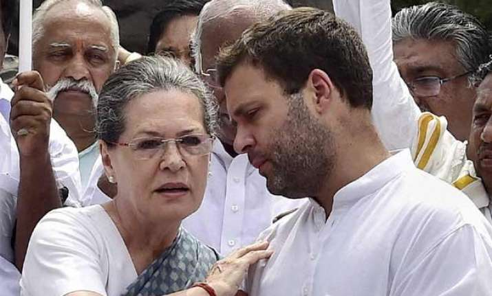 sonia gandhi rahul gandhi encouraging indecorous behaviour