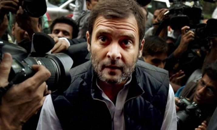 rahul gandhi condemns attack on journalists in delhi says