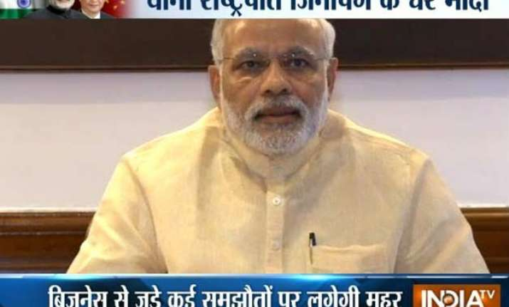 my visit to china will set new milestone for asia pm modi