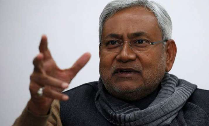 nitish has become announcement minister says bjp