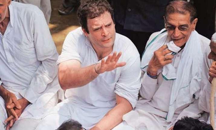 rahul gandhi back in action