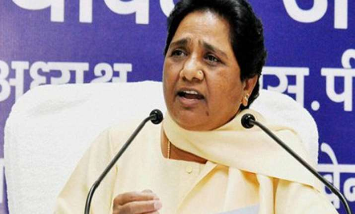 mayawati asks bsp leaders to donate a month s salary to