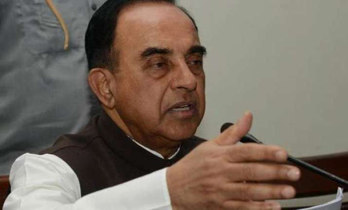 subramanian swamy approaches lg seeks sanction to prosecute
