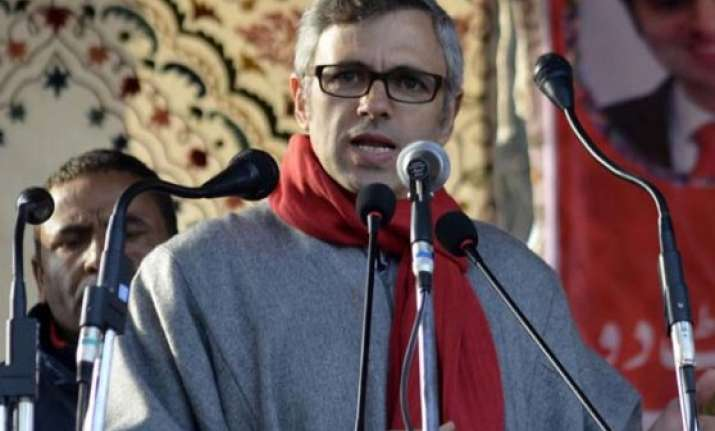 j k polls omar blames mufti for imposition of afspa
