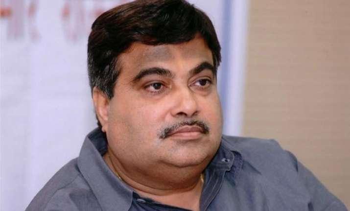 gadkari defends land bill