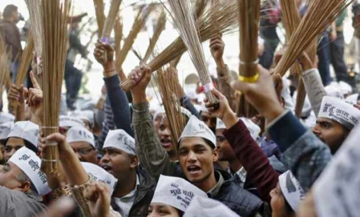 aap crisis many maharashtra leaders extremely upset may