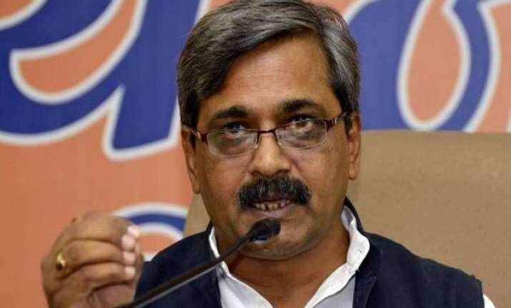 delhi bjp holds protest demanding action against jitender