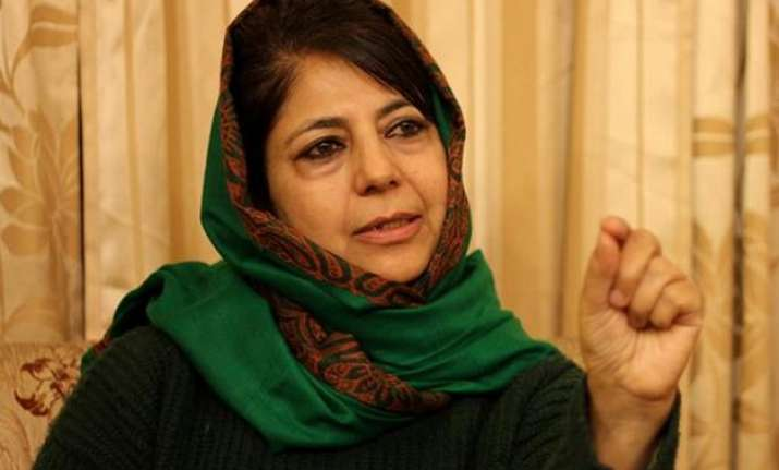 mehbooba mufti wants decisive measures from centre for
