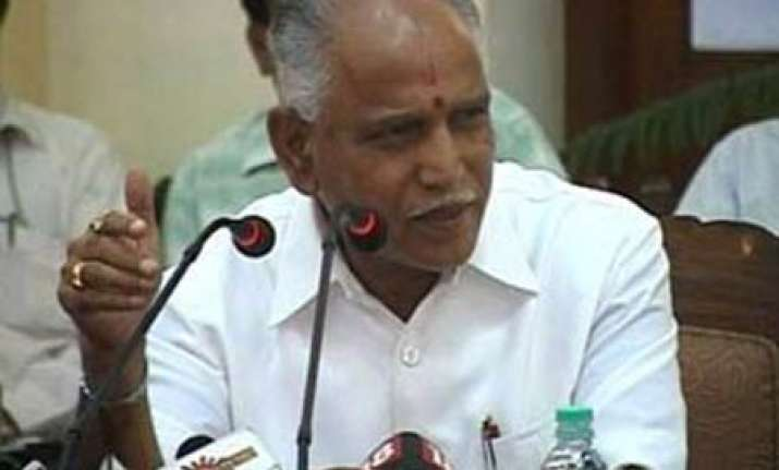 yeddy s kin surrender plots future as cm to be discussed