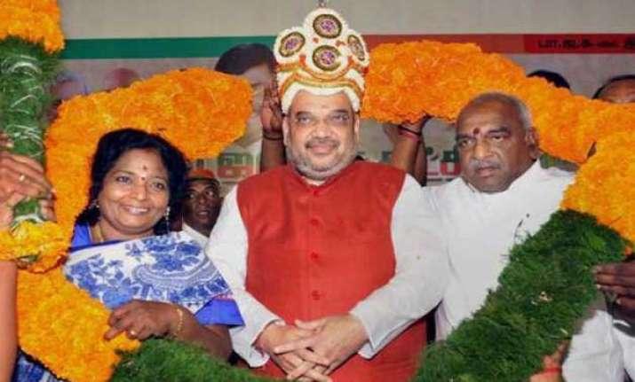 tamil nadu no. 1 in electoral corruption amit shah