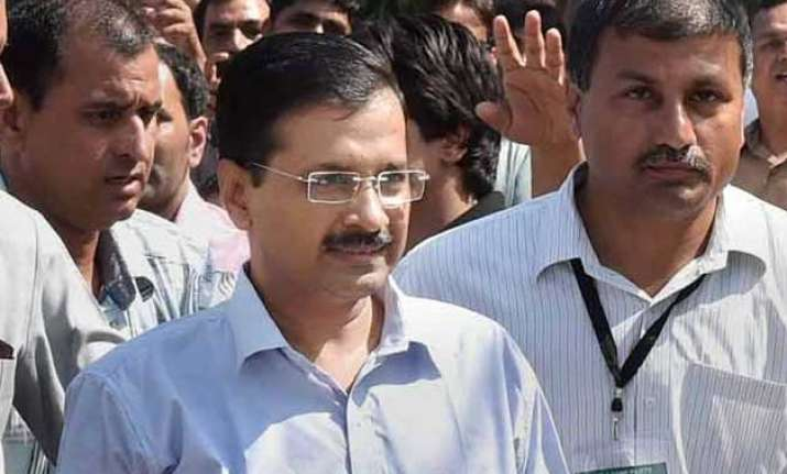 ncrb data aap blames centre police