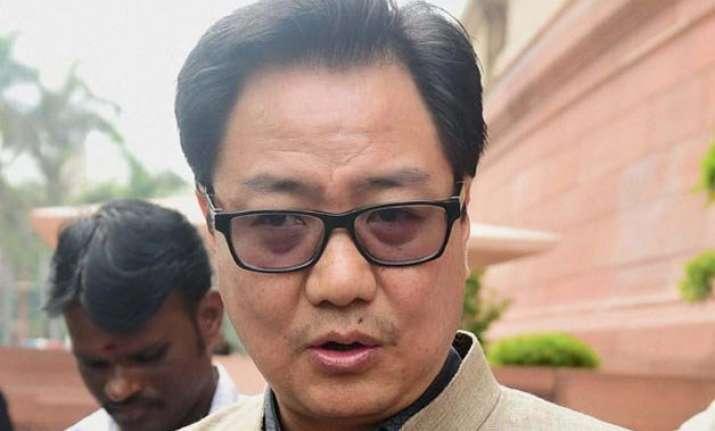 naga accord is just a framework agreement says rijiju