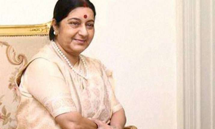 sushma swaraj in germany for talks to strengthen ties